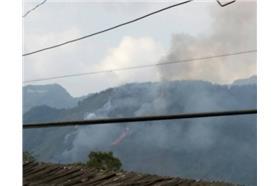 阿里山火燒山-翻攝自由民眾提供