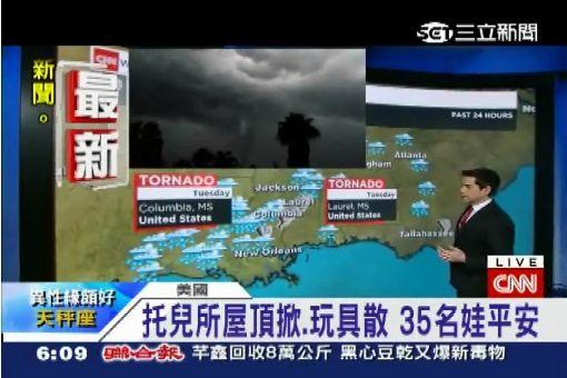 龍捲風攪亂耶誕假 美東南至少4死