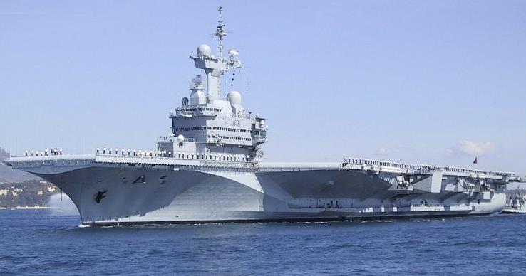 戴高樂號航空母艦_維基百科