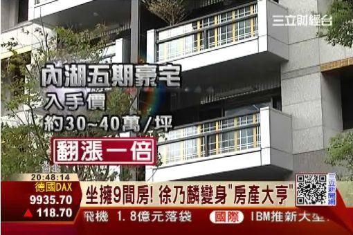 坐擁9房! 徐乃麟:現打房不宜投資