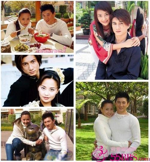 ▲吳奇隆和前妻馬雅舒。(圖/翻攝自微博)
