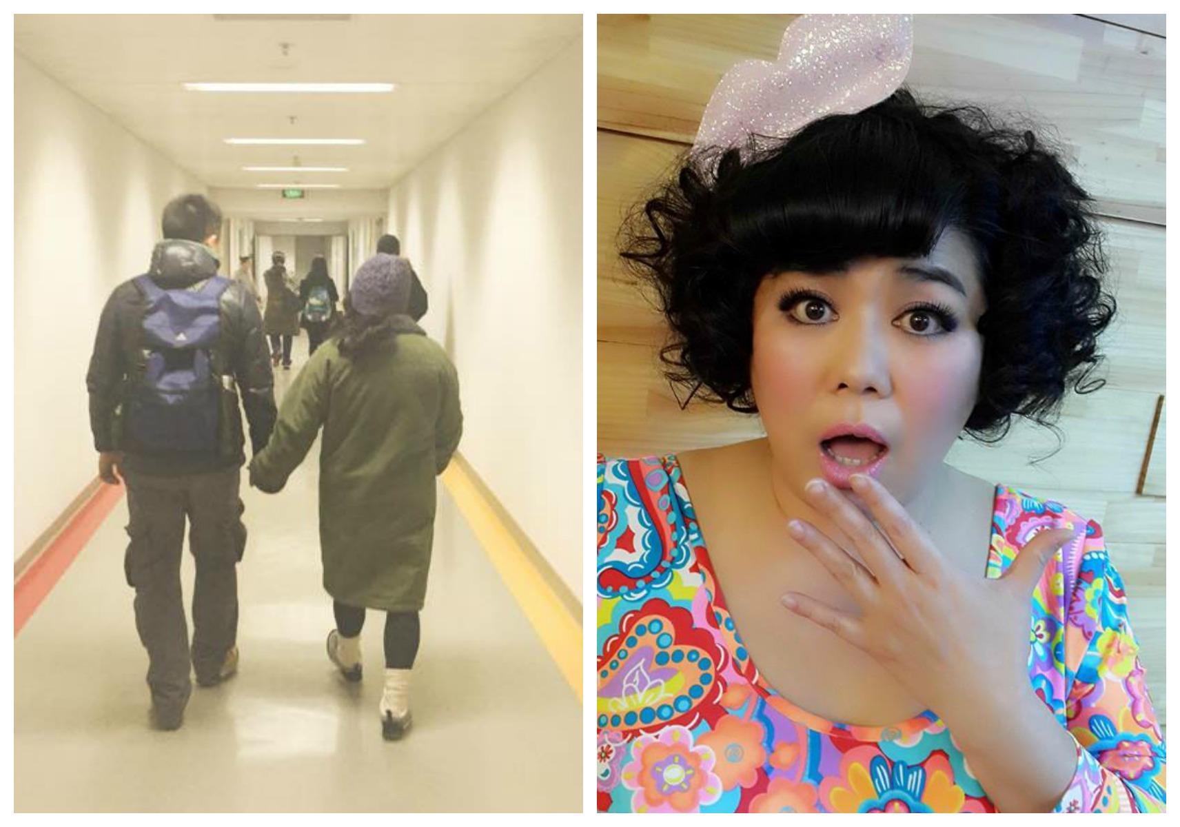 林美秀-左:吳定謙臉書/右:林美秀臉書