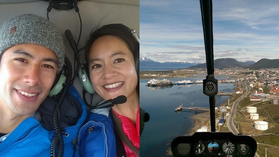 Janet傳前往南極/圖:Janet臉書