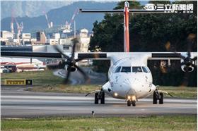 復興航空 B-22816、ATR72-600 (林敬旻攝)