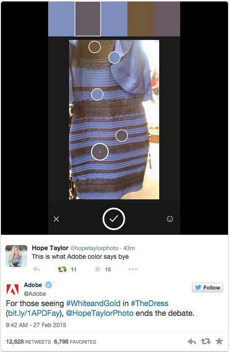 這條裙子到底是什麼顏色/buzzfeed