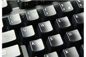 電腦鍵盤(https://www.flickr.com/photos/spadgy/313251851)