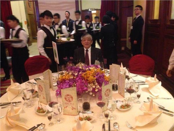 義美總經理高志明參加國宴。