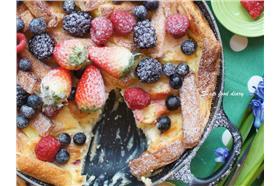 野莓起士麵包布丁/蘇發福日記
