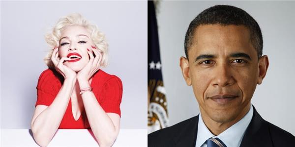 瑪丹娜、歐巴馬/環球音樂、臉書