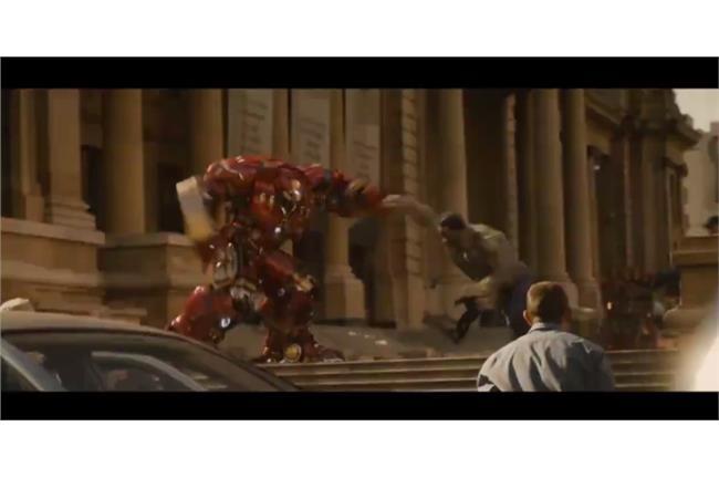 《復仇者2》新預告!浩克大戰鋼鐵人