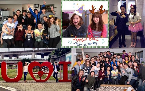 《我的寶貝四千金》大合照-謝佳見、曾之喬、小薰、方志友、楊銘威臉書