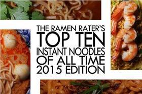 2015十大好吃泡麵-取自The Ramen Rater網站(首圖)