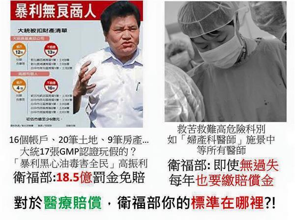 堅決反對衛福部版本醫糾法草案/臉書活動