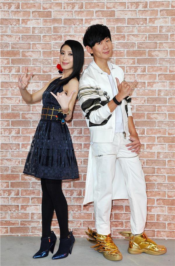 林俊傑、戴佩妮首次合作榮任第26屆金曲獎宣傳大使/台視提供