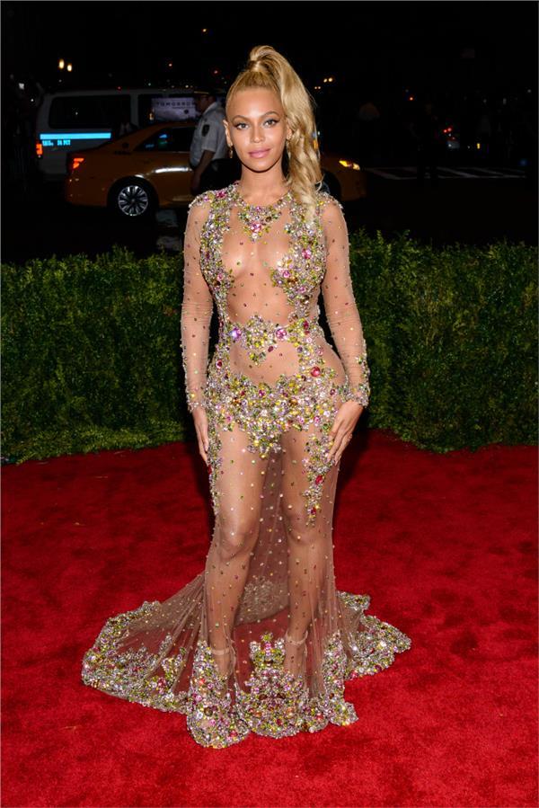 Beyonce/Met Gala(圖/達志影像)