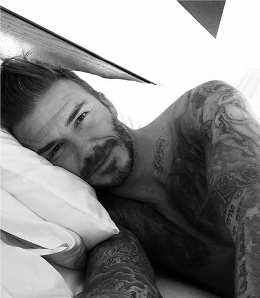 翻攝貝克漢臉書 https://www.facebook.com/Beckham/photos_stream