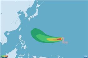 20150512颱風白海豚/中央氣象局