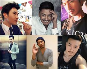 鬍渣型男PK-謝佳見、Duncan、陳柏霖、Darren、高以翔、李沛旭臉書