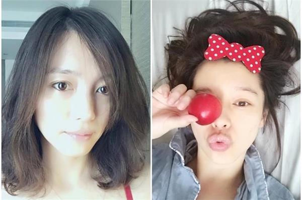 徐若瑄(右)和姊姊都是美人胚子。(圖/翻攝自徐若瑄臉書/合成)