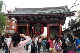 東京雷門(廖貞嵐攝)