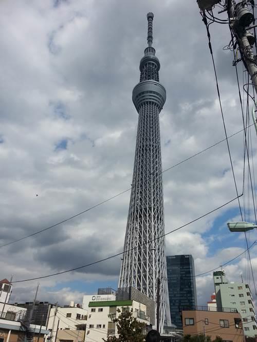東京晴空塔(廖貞嵐攝)