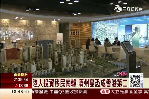 陸人投資移民南韓 濟州島恐成香港第二
