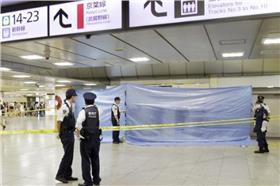 ▲東京車站置物櫃驚傳藏有屍體。(圖/翻攝自《產經新聞》推特)