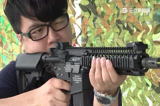 迷彩千人射擊賽 軍事迷比裝備比炫