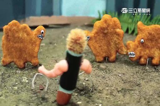 """香腸也趕恐龍熱! """"侏儸紀世界""""被惡搞"""