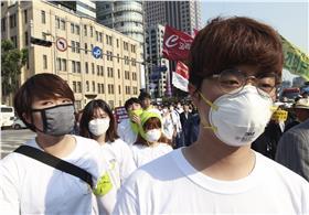 南韓,MERS,台灣,SARS (達志影像/美聯社)