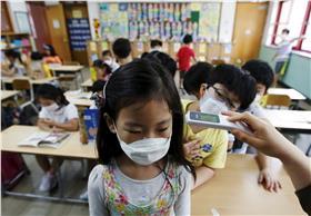 MERS,南韓,台灣,口罩,中東,流感,發燒,生病 (達志影像/美聯社)