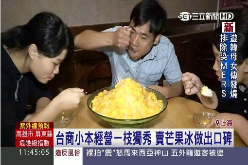 永康街芒果冰300元一碗 攻北京一級戰區