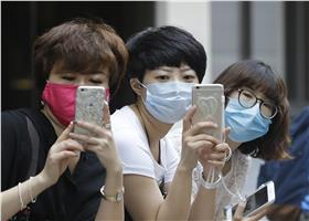 MERS,口罩,南韓,疾病,傳染,呼吸道 (達志影像/美聯社)