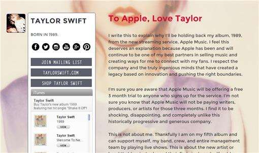 Taylor Swift 圖/翻攝自《Taylor Swift》tumblr