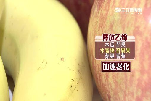 """蘋果香蕉放一起 乙烯催化""""爛得快"""""""