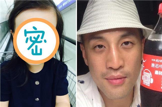 唐志中跟女兒長超像 網友:爸爸上身