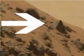 宇宙,好奇號,火星,金字塔,外太空▲圖/翻攝自mirror