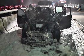 BMW火燒車.0600