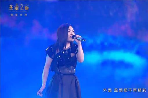 徐佳瑩,金曲26/翻攝自台視