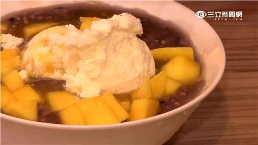 芒果,冰粥,美食