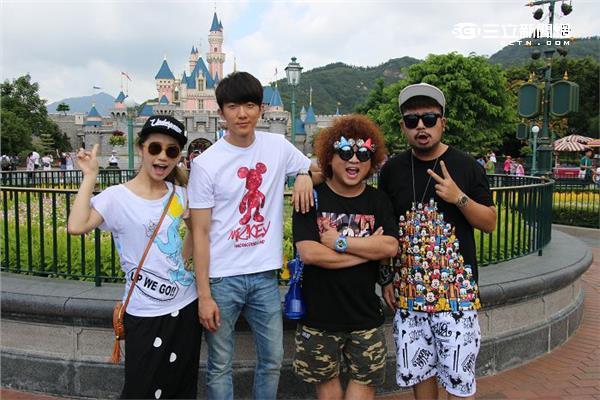 香港迪士尼樂園-攝影吳茜雯