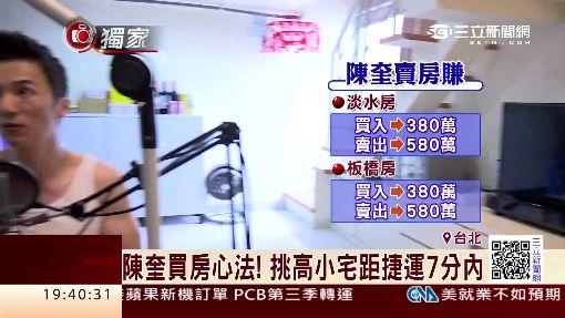 """金城武""""背影殺手"""" 陳奎賣房賺逾600萬"""
