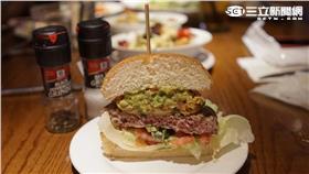 漢堡,,美式,分食▲圖/記者林敬旻攝