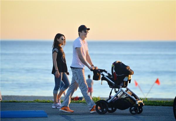 Ashton Kutcher&Mila Kunis,達志