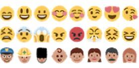 emoji表情符號(圖/翻攝網路)