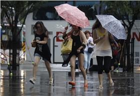 颱風示意圖_AP/達志影像