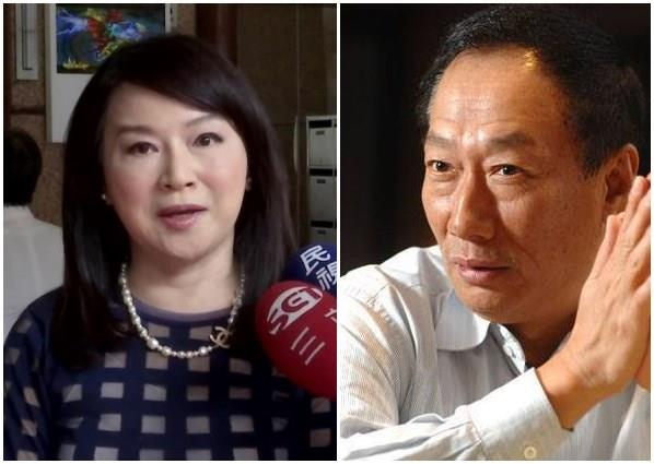 郭台銘,周玉蔻,三億男_資料照、郭台銘臉書