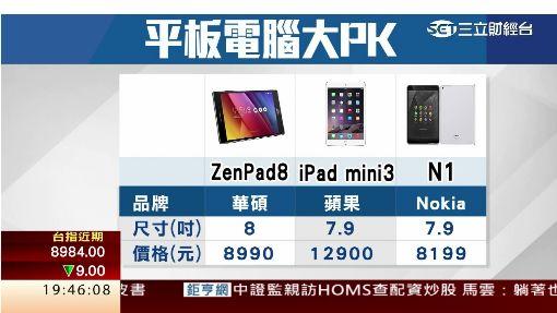 華碩推新平板ZenPad 下修全年出貨