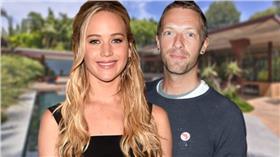 珍妮佛勞倫斯(Jennifer Lawrence)  克里斯馬汀(Chris Martin) (圖/翻攝自《OK!》)