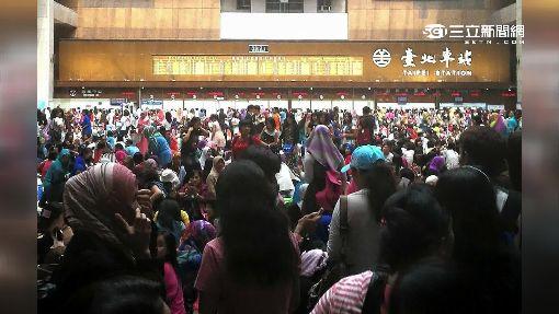 回教開齋節 近6萬穆斯林擠爆北車